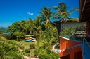 View of Ocean View and Ocean Access Villa on Playa Potrero, Guanacaste