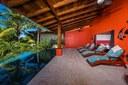 Pool Terrace of Ocean View and Ocean Access Villa on Playa Potrero, Guanacaste