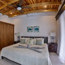 Bedroom of Ocean Front Villa with Private Pool for Rent in Playa Potrero