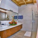 Bathroom of Ocean Front Villa with Private Pool for Rent in Playa Potrero