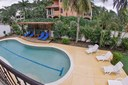 Pool Area of Ocean Front Villa with Private Pool for Rent in Playa Potrero