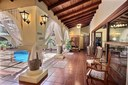 Pool Area of Charming Property with Private Pool in the Middle of the House in Brasilito, Guanacaste
