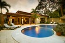 Pool Area of Elegant Modern Villa with Private Pool Close to Beach in Potrero