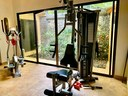 Gym of Elegant Modern Villa with Private Pool Close to Beach in Potrero