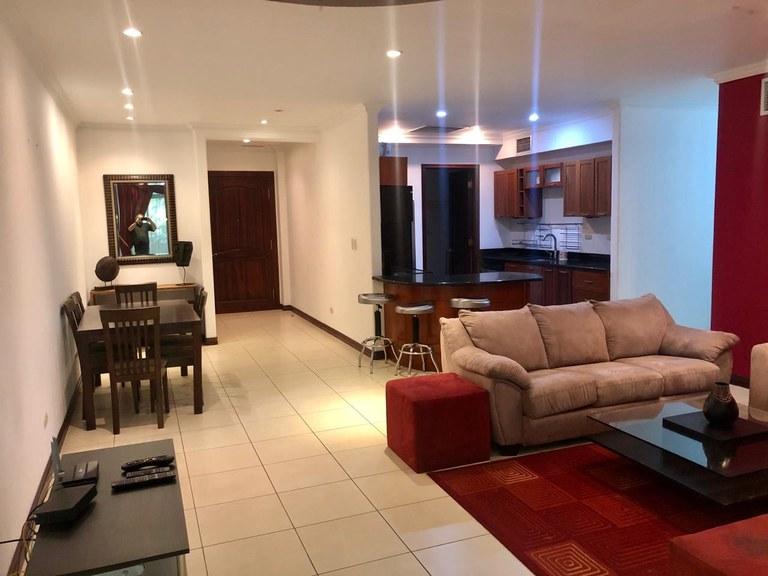 Furnished Apartament for Rent 3 Bedrooms Escazu Costa Rica