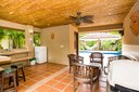 Barbecue Area of Charming Budget Friendly Condominium in Brasilito, Guanacaste
