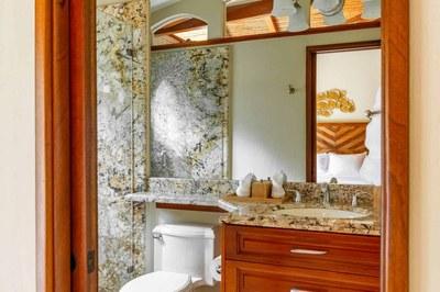 Bathroom of Luxury Beach Front Condo in Playa Flamingo