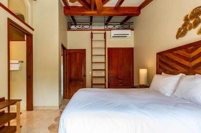 Bedroom of Luxury Beach Front Condo in Playa Flamingo