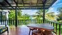 Upstairs Terrace of Luxury Cliffside Ocean Access Villa in Flamingo
