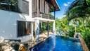 Pool Area of Luxury Cliffside Ocean Access Villa in Flamingo