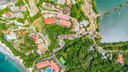 Aerial View of 2 Storie Ocean View Luxury Condominium in Flamingo
