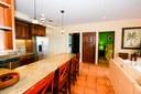 Kitchen of Elegant 3 Bedroom Oceanfront Condo wit Balcony