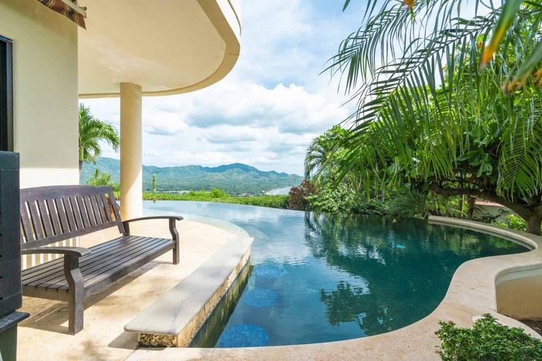 Villa Cielo Mar: Tropical Hacienda Style Ocean View Villa with Infinity Pool  in Potrero