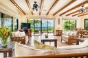 Living Area of Ocean View 4 Bedroom Villa with Pool in Pacific Heights, Potrero