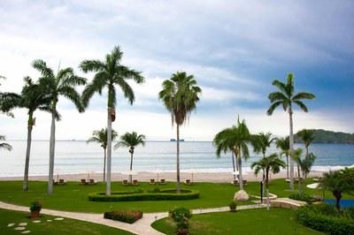 View of Luxury 2 Bedroom Ocean Front 2 Storie Condo in Flamingo