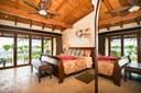 Bedroom of Luxury 2 Bedroom Ocean Front 2 Storie Condo in Flamingo