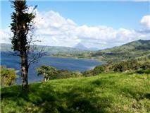 Views of Lake and Volcano Arenal