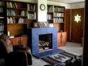 RE/MAX Rico Realty, Lake Arenal Experts                              Fireplace in Living room for the chilly days