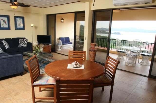 Presidential Suites #22: Beautiful two story condo with breathtaking views of Flamingo Beach, Guanacaste