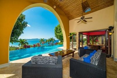 Terrace Area Overlooking Pool and Playa Flamingo