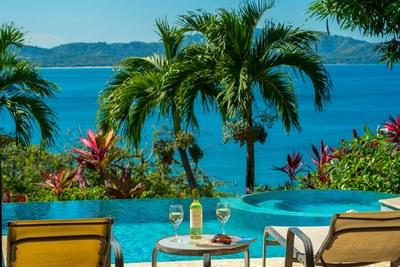 Pool Area Overlooking Playa Flamingo