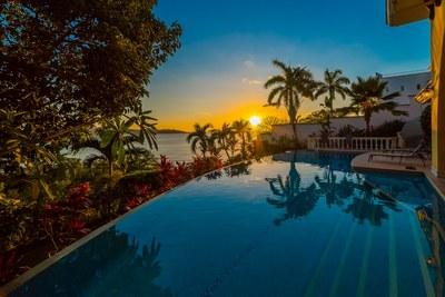 Enjoy Amazing Sunsets at the Pool