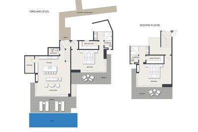 Floor Plan: Guest House