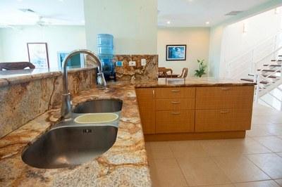 Condo 1-Kitchen Marble Countertop