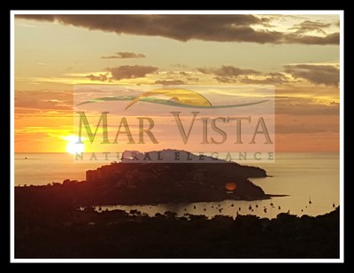 Sunset From Mar Vista Over Playa Flamingo and Marina2.jpg