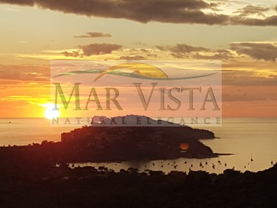 Sunset From Mar Vista Over Playa Flamingo and Marina.jpg