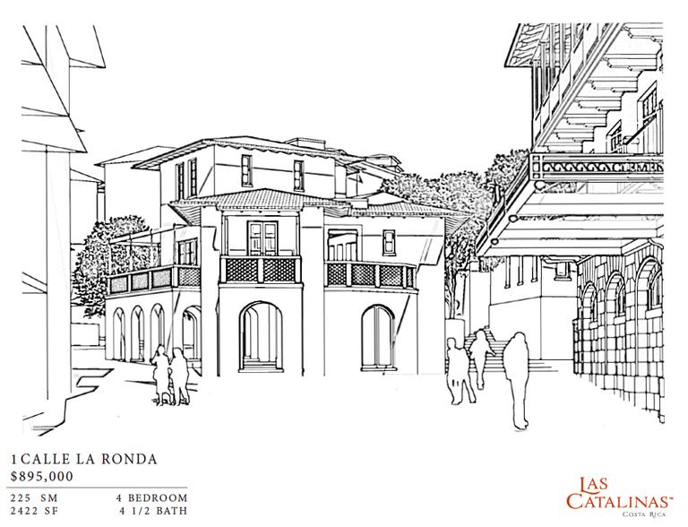 1 Calle La Ronda: 4 Bedroom Courtyard Style Home