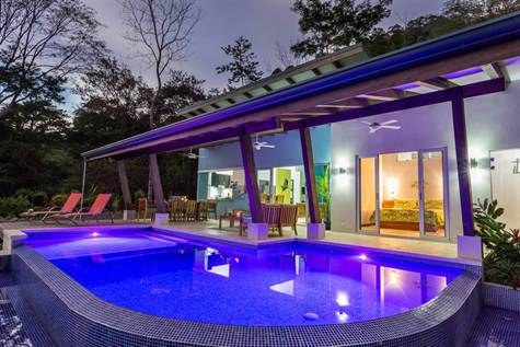 Casa Toji Uvita Ocean View - Nearly new construction, contemporary design, excellent location