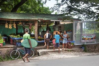 Fruit Stand in Playa Potrero