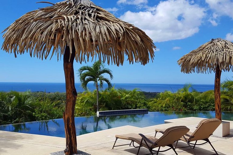 Casa Panoramica: PRICE REDUCED Beautiful 4BR Home w/Ocean-View Infinity Pool Terrace Close to Surf Beaches