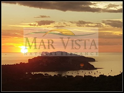 Sunset From Mar Vista Over Playa Flamingo and Marina1.jpg