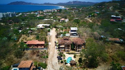 19 - Drone View Of Tamarindo Azul Complex - Ocean-vicinity Luxury Condo For Sale.jpg