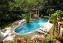 Beautiful, crystal clear community pool.