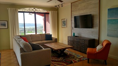 Updated Living Room With Ocean View - Amazing Ocean View Luxury Condo