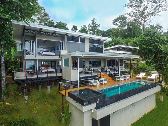 Brand New Modern Ocean View Home overlooking Ballena National Park