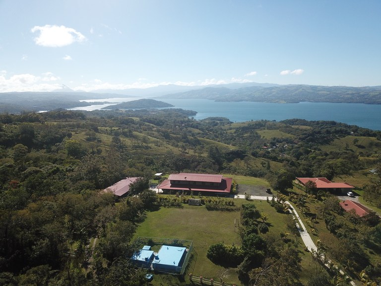 Panoramic Lake/Volcano View Home with Soccer Field: Family Retirement Property or Sports Center