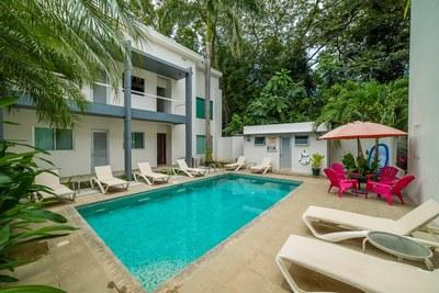 Casa Blanca 3-Pool & Outside Sitting Area