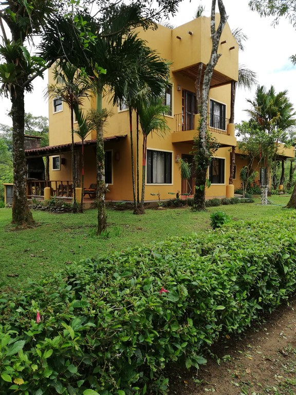 Most Impressive Water Property In The Arenal Area: River, Ponds, Lake View Home With 2 Car Garage  And Caretaker Home