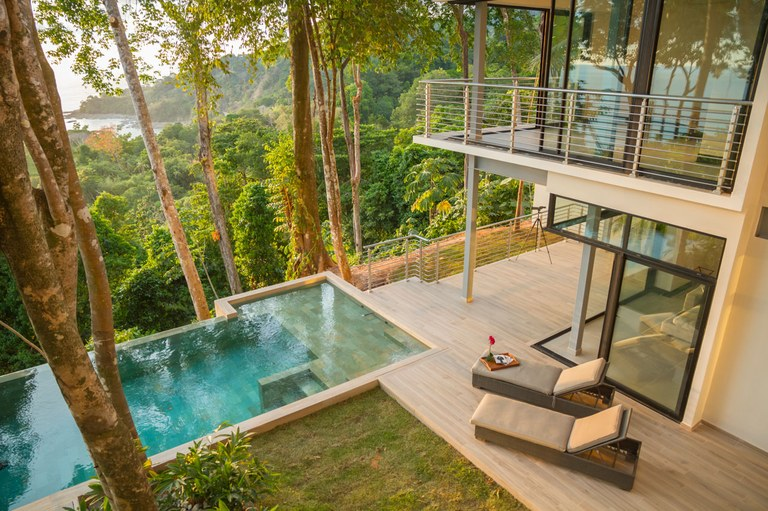 #2 The Terraces at St. Martin: One-of-a-kind Luxury Oceanview Villa for sale, offering a bird's eye view of Costa Ballena, Puntarenas