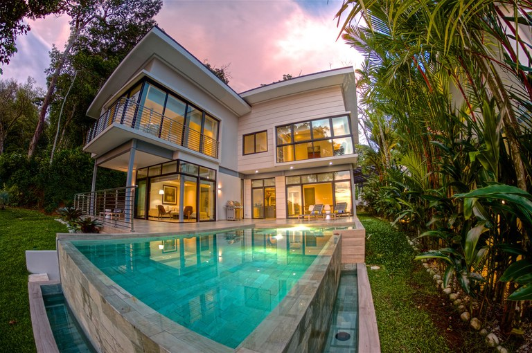 #1 The Terraces at St. Martin: One-of-a-kind Luxury Oceanview Villa for sale, offering a bird's eye view of Costa Ballena, Puntarenas