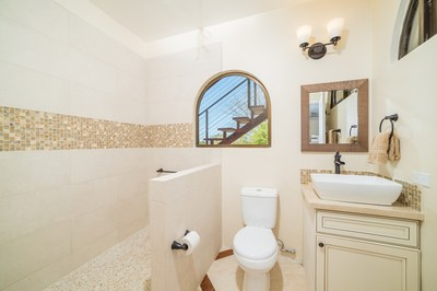 Bathroom Casa Vista Prieta Ocean View House For Sale in Potrero Costa Rica