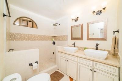 Bathroom Casa Vista Prieta Ocean View House For Sale in Potrero Costa Rica