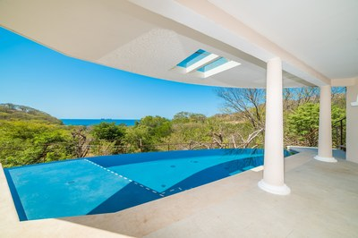 Pool areaCasa Vista Prieta Ocean View House For Sale in Potrero Costa Rica