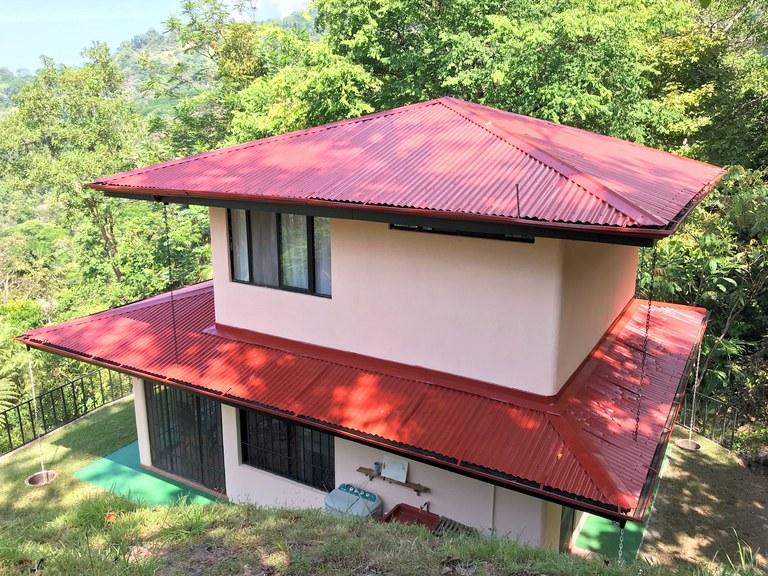 Affordable Ocean View Mountain Home - 3.1 Acres: Mountain House For Sale in Uvita