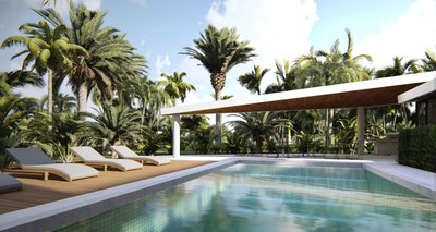 Amazing pool in beach community