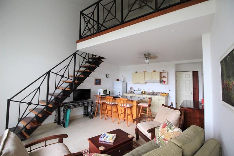 Condo Plaza Langosta #3: Fully furnished condo at 150mts from Playa Langosta
